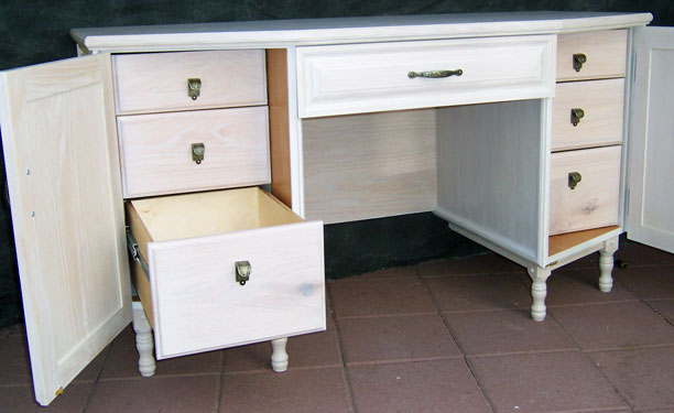 Gary Johnson's handmade desk