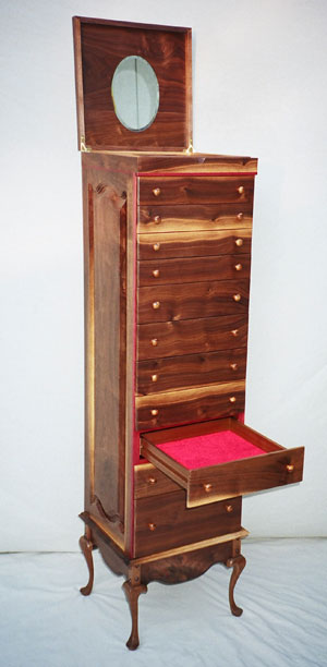 Gary Johnson's handmade wood furniture