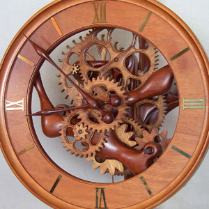 Wood Clock Pdf Woodworking